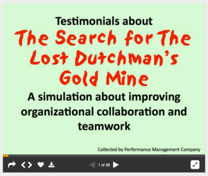 testimonials for Lost Dutchman Gold Mine slideshare
