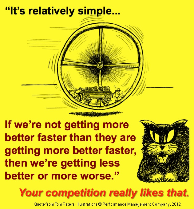 It's Relatively Simple - An Illustration of More Better Faster