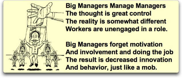 BIG manager puppet poem