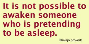 Navajo Not possible to awaken