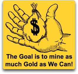 The Goal - Gold Hand gold
