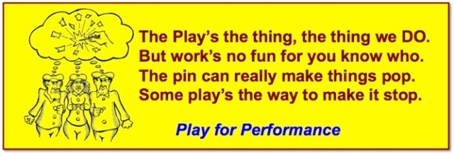 Pin Balloon Play Performance poem