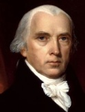 Portrait of James Madison from Wikipedia Commons