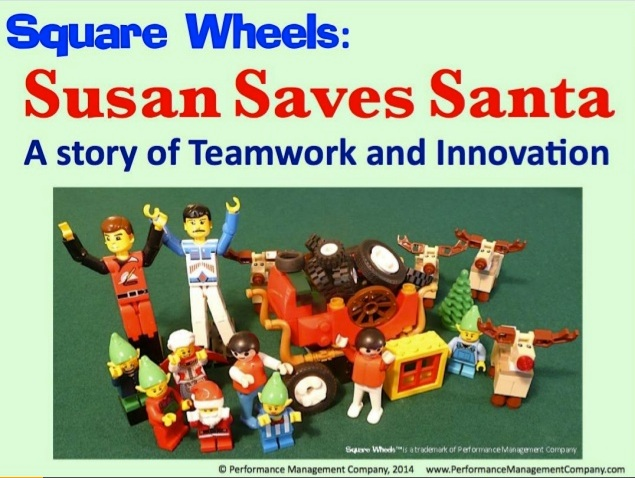 Santa LEGO Square Wheels storyboard