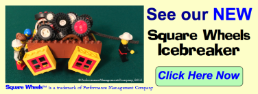 Square Wheels Icebreaker is simple to use