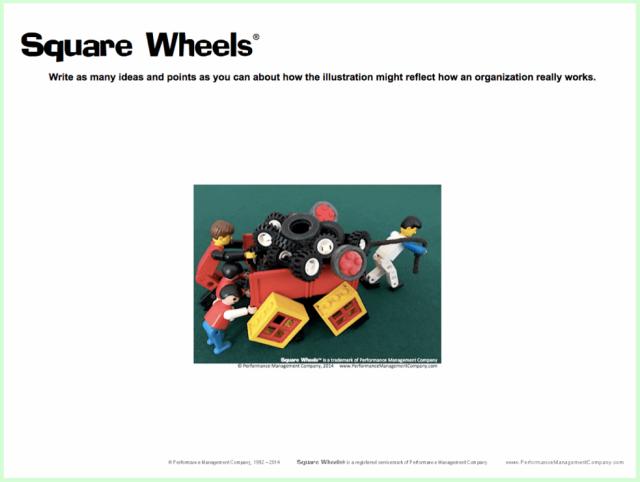 Square Wheels worksheet handout