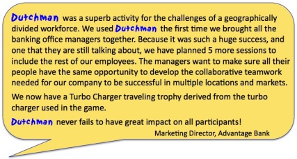 LDGM Testimonial bubble Advantage Bank 100
